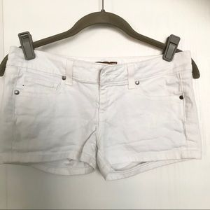 Paige White Denim Shorts 26